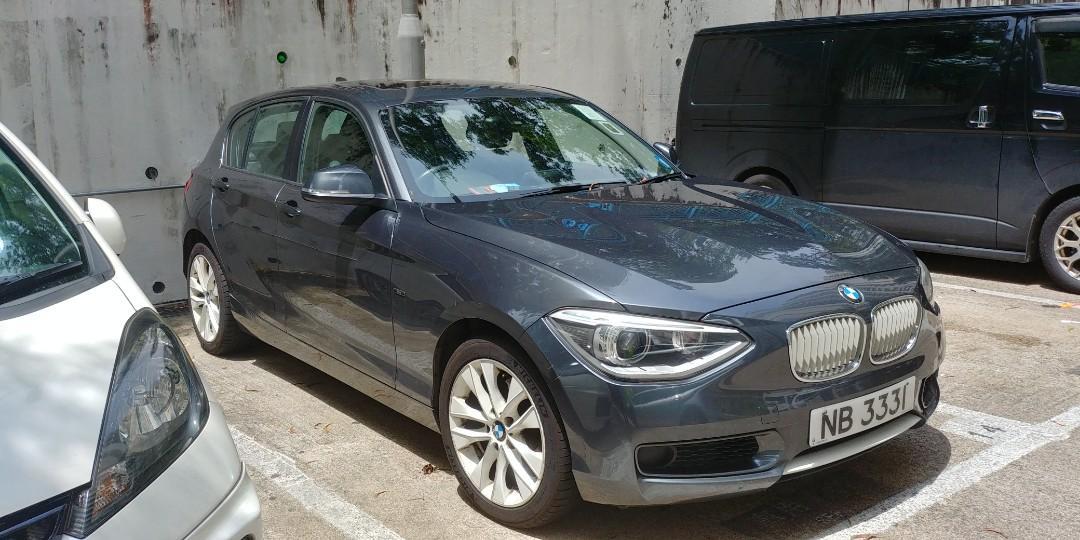 BMW 118I (F20) 2011