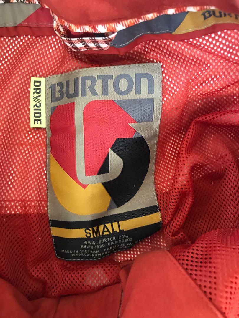 Burton snowboarding pants
