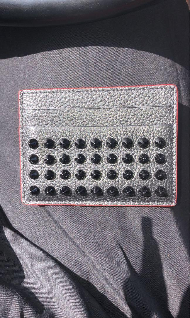 Christian Louboutin card case on sale 10/10 condition