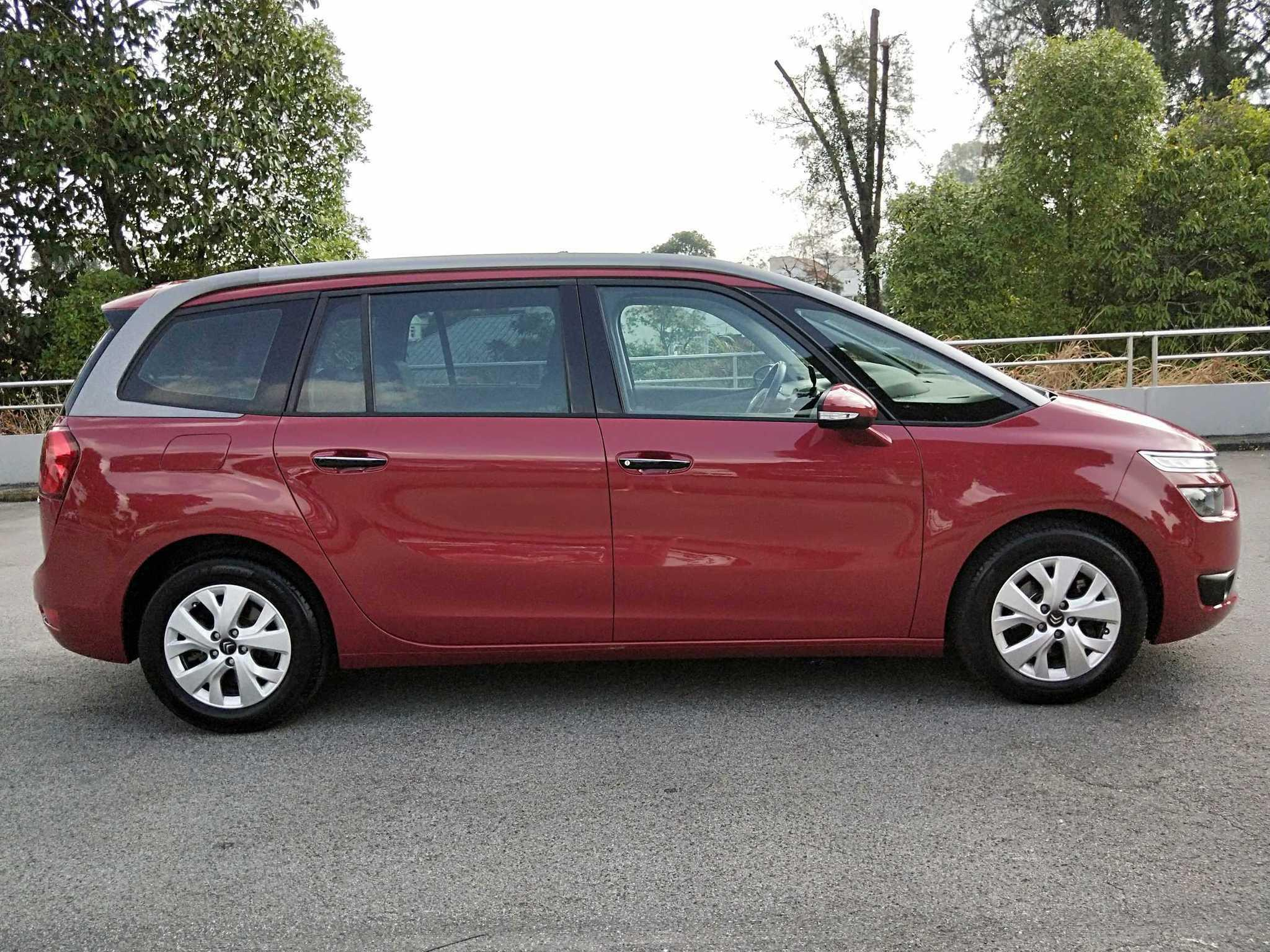 Citroen Grand C4 Picasso 1.6 BlueHDi 120 EAT6 ML Manual
