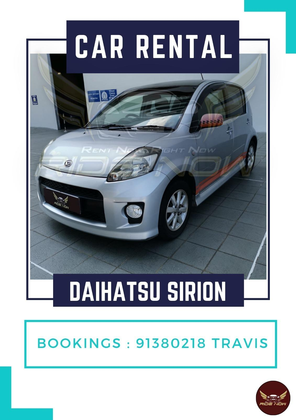 Daihatsu Sirion 1.5A Compact Hatchback. Good Fuel Efficiency Perfect for High Mileage