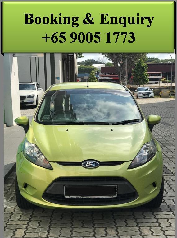 Ford Fiesta - Lowest rental rates, good condition!