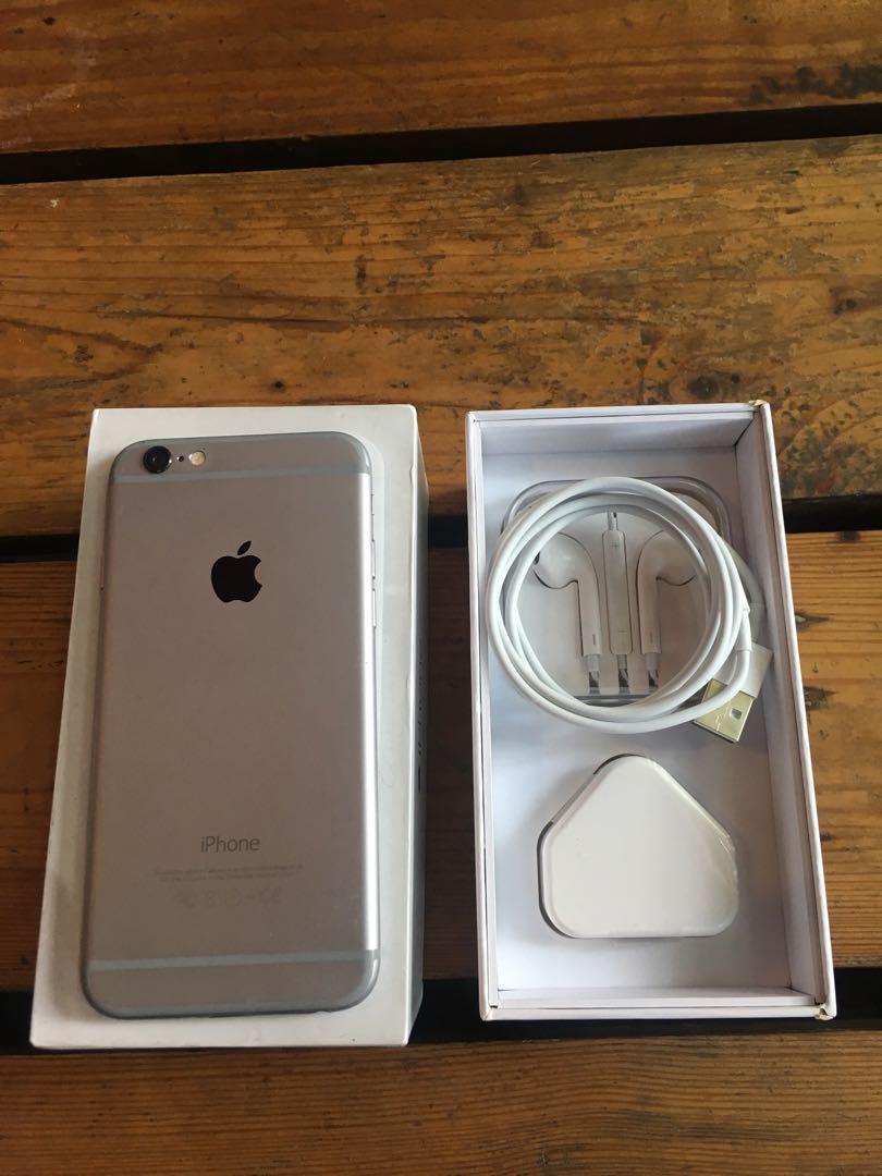 Forsale Iphone 6 16gb warna Grey