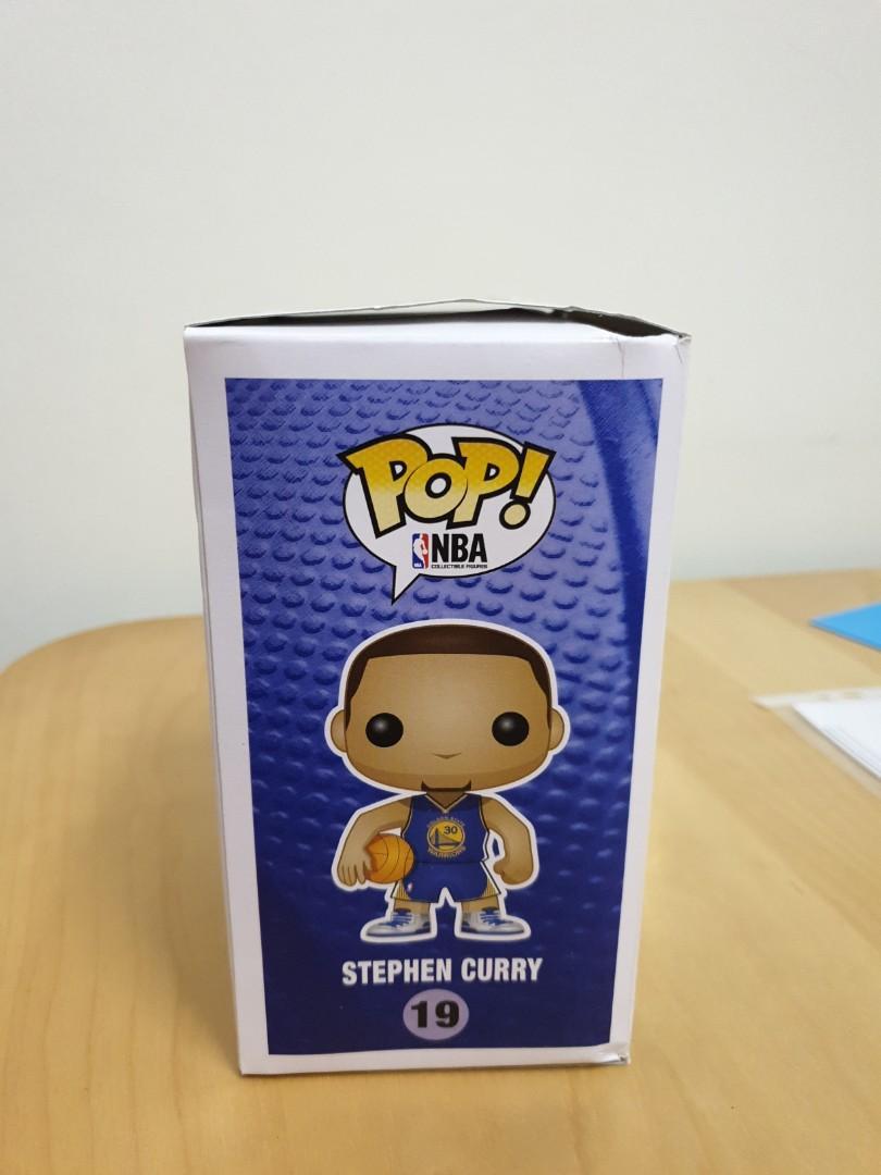 Funko Pop NBA Warriors Stephen Curry