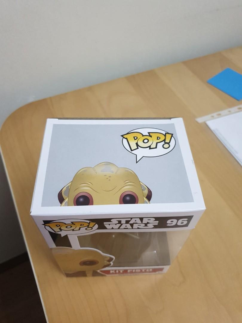Funko Pop Star Wars Jedi Kit Fisto