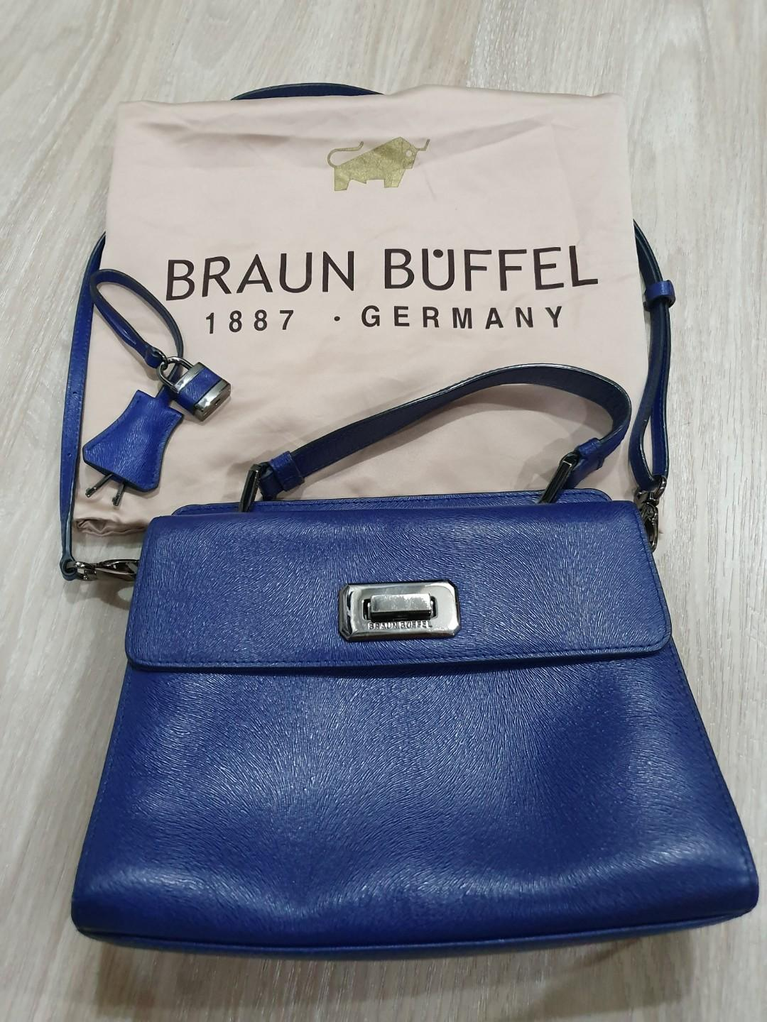 Genuine Braun Buffel Top Handle Bag (Small)