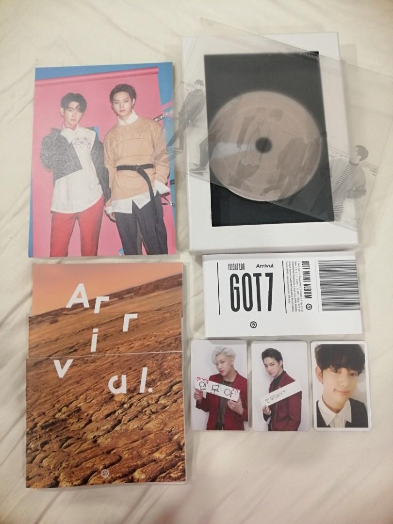 GOT7 ALBUM: Arrival (Never ver.) w/ Jinyoung, BamBam & Jaebum PC