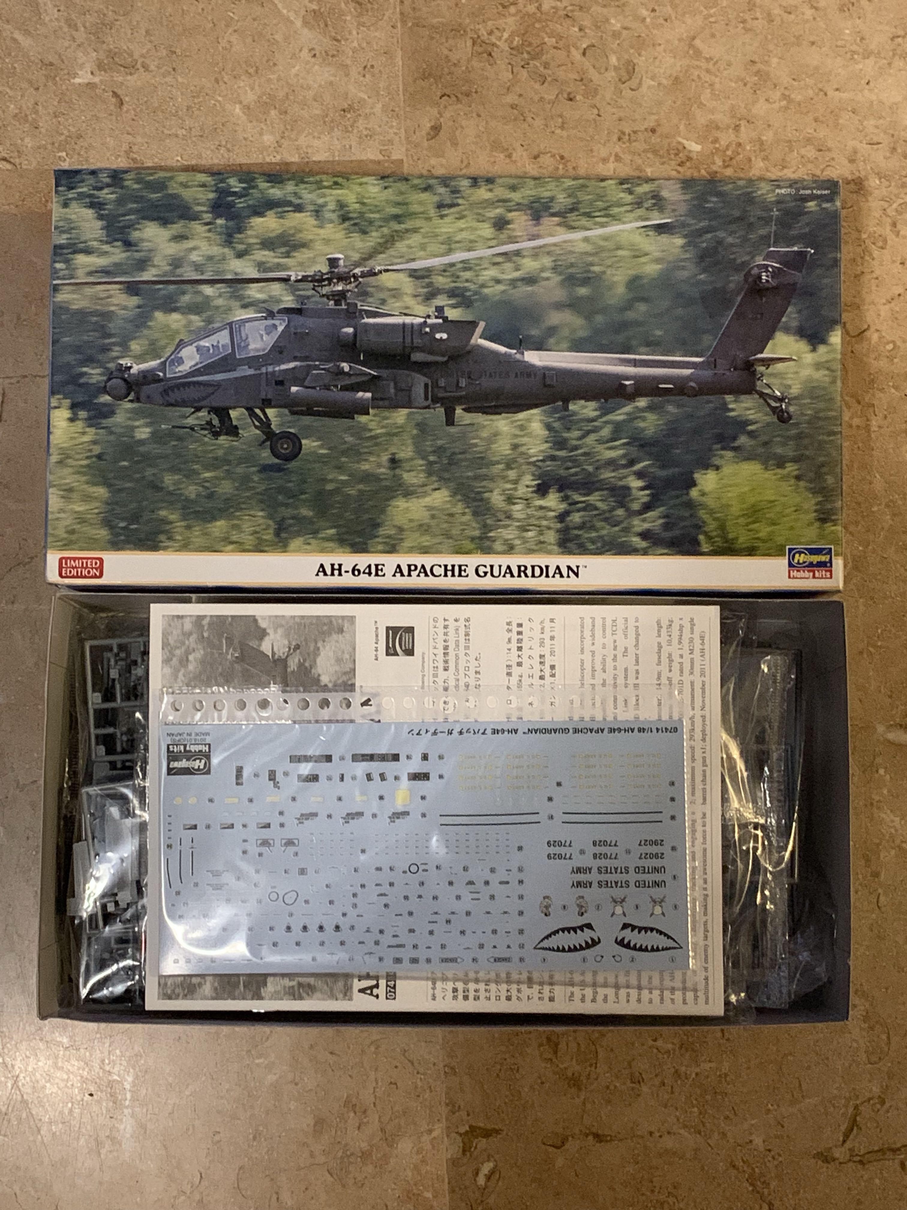 Hasegawa 1/48 AH-4E Apache Guardian