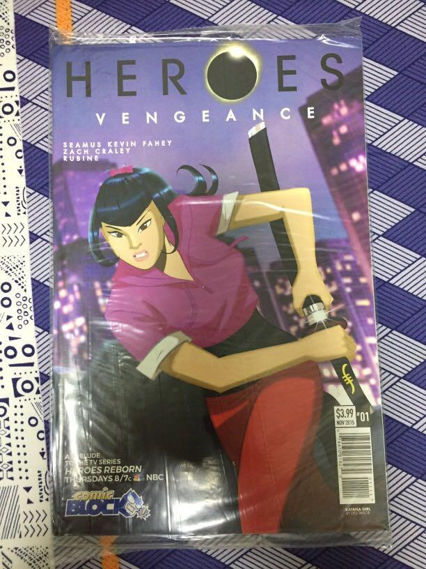 Heroes Vengeance #1 (Comic Block Exclusive)
