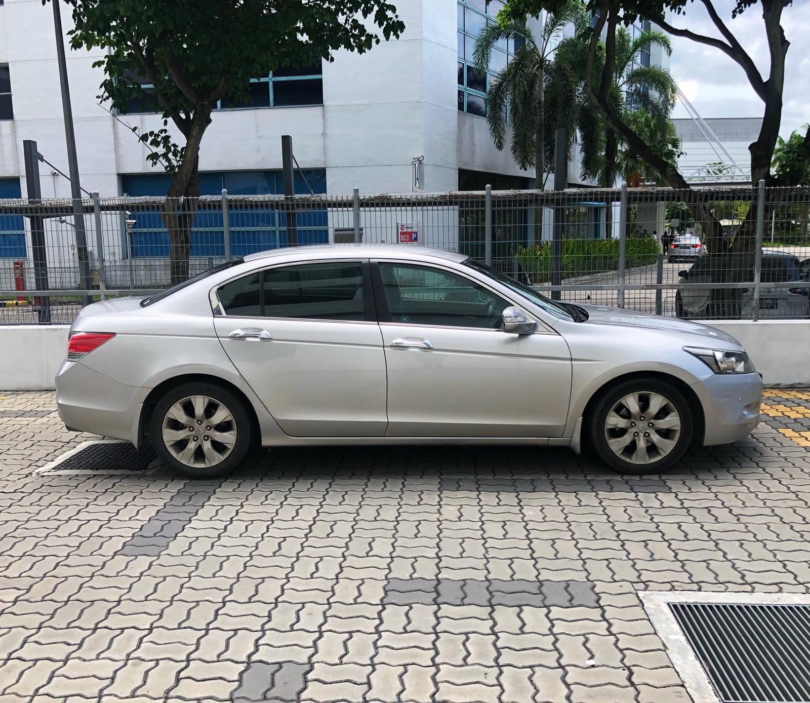 Honda Accord RENTAL CHEAPEST RENT AVAILABLE FOR Grab/Ryde/Personal USEC