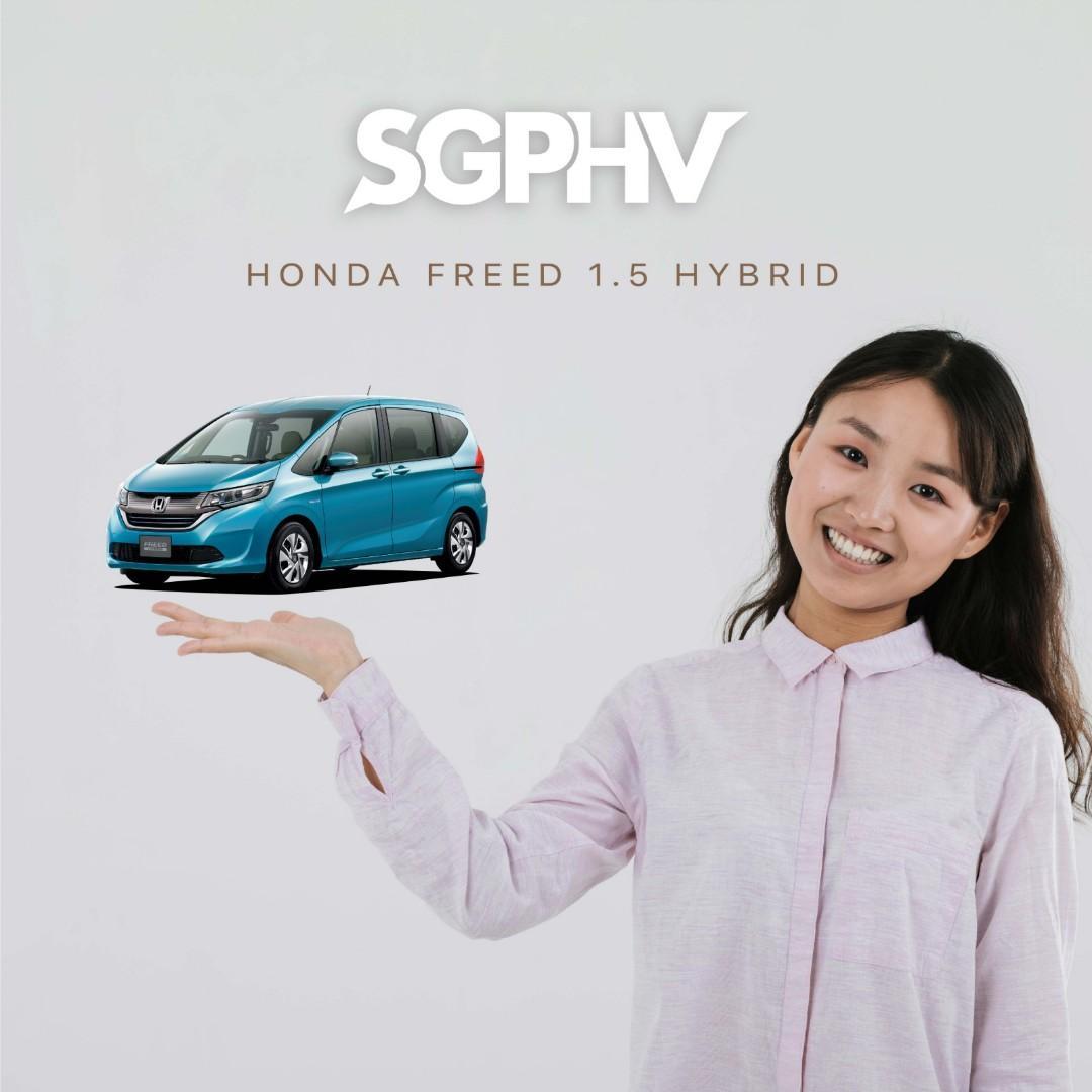 Honda Freed Hybrid - Private Hire / Grab Use