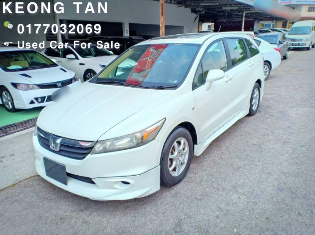 HONDA STREAM 1.8AT i-VTEC LOCAL 2008TH 7-Seater JohorPlate🚘Cash💲OfferPrice Rm44,800 Only‼ LowestPrice InJB‼Call📲Keong For More🤗