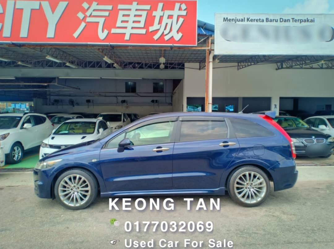 HONDA STREAM 1.8AT i-VTEC RSZ 2009TH Johor Plate🎉Cash💰OfferPrice💲Rm47,800 Only‼ Lowest Price InJB‼ Call📲 0177032069  Keong For More🤗