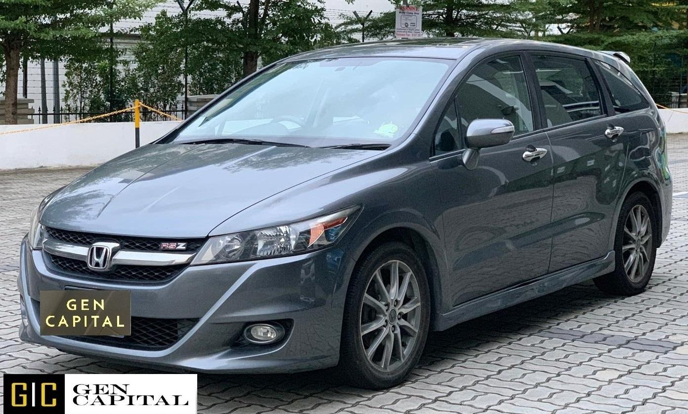 Honda Stream RSZ 1.8A - Lowest rental rates, good condition!