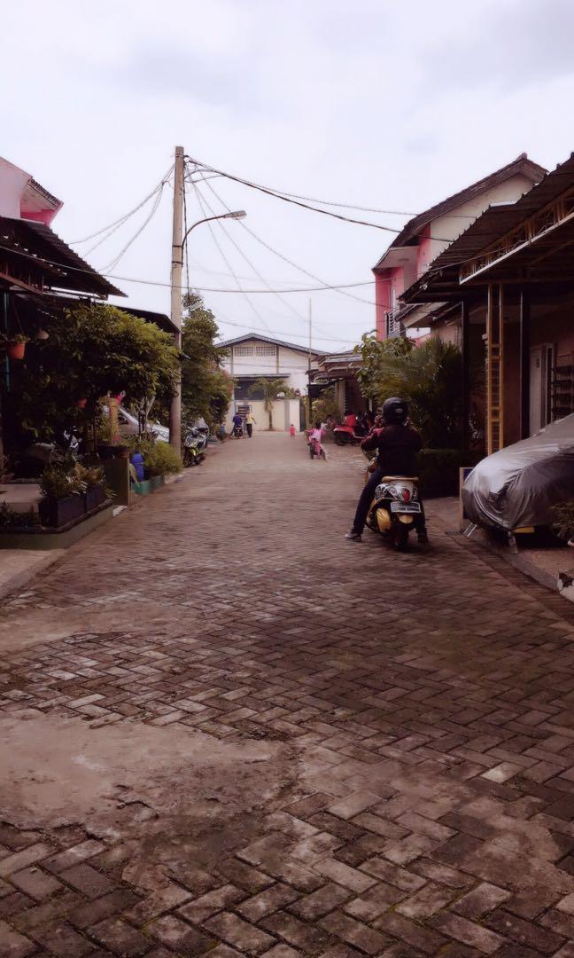 Hunian cluster daerah jati asih , bekasi kota