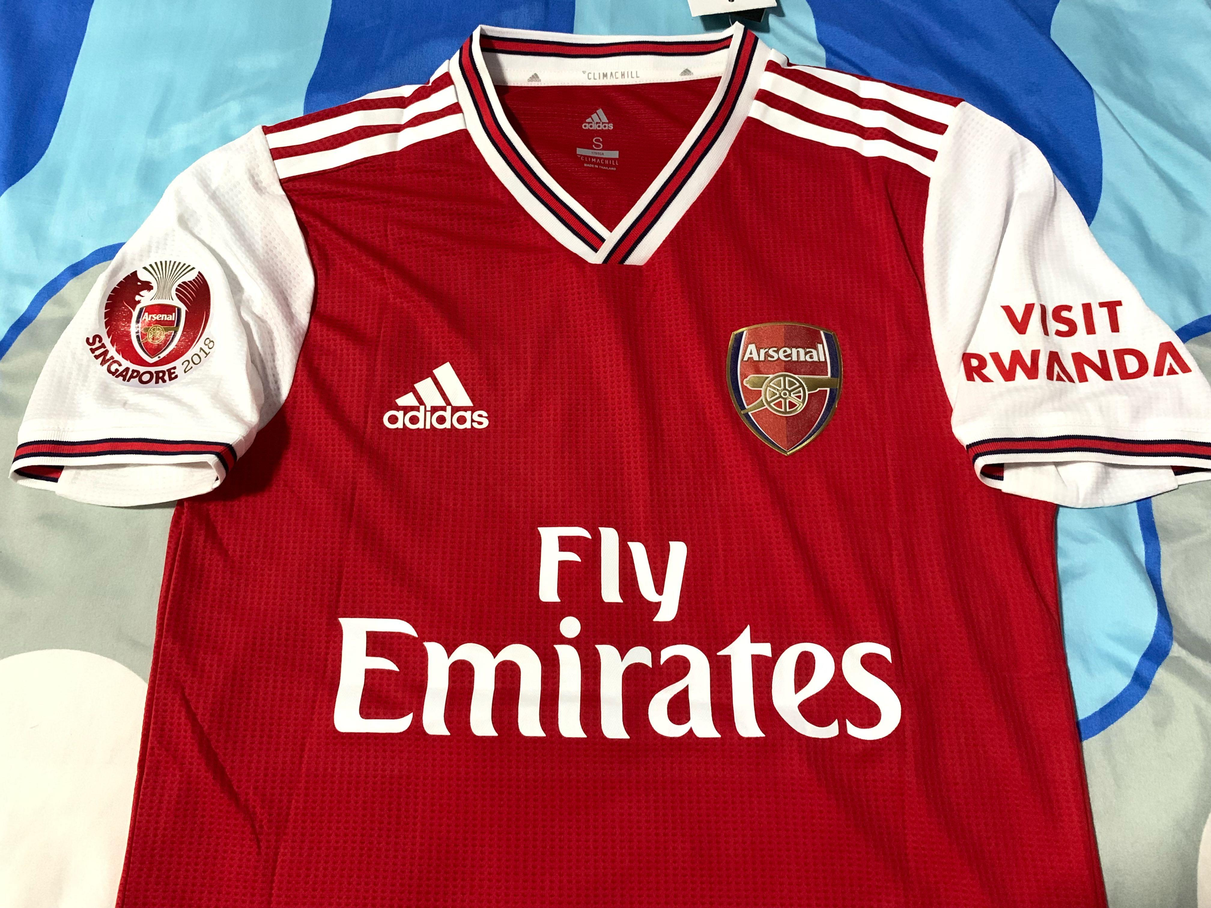 sports shoes 21e2b aaf4d Instock] Arsenal 19-20 kit with Special Edition printings ...