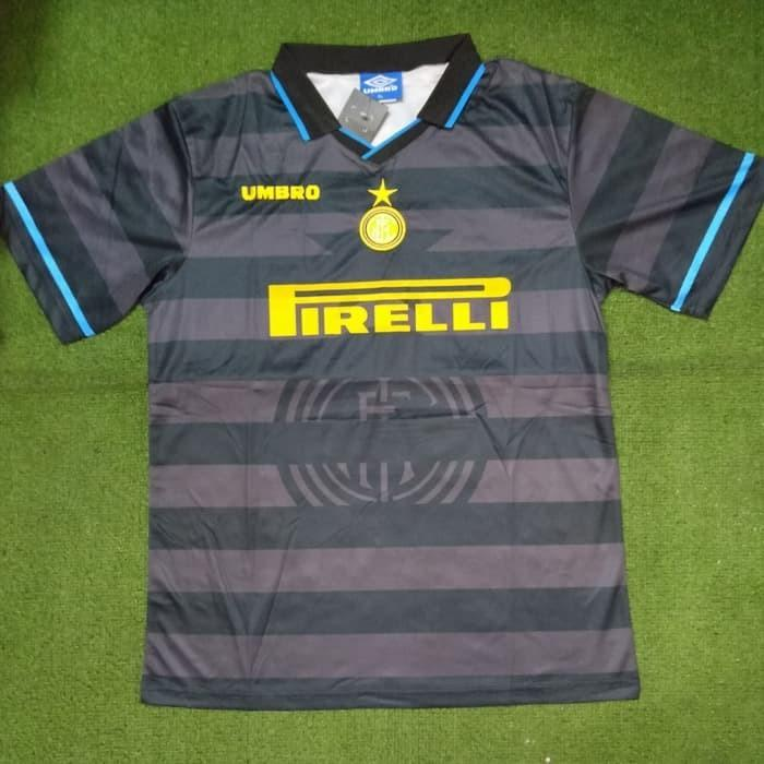 quality design 1f245 157a2 Inter milan vintage jersey, Sports, Sports Apparel on Carousell