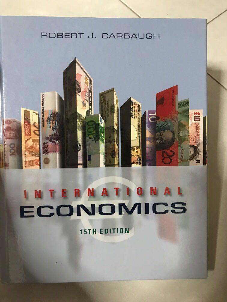International Economics 15th Edition (Robert) Cengage Learning