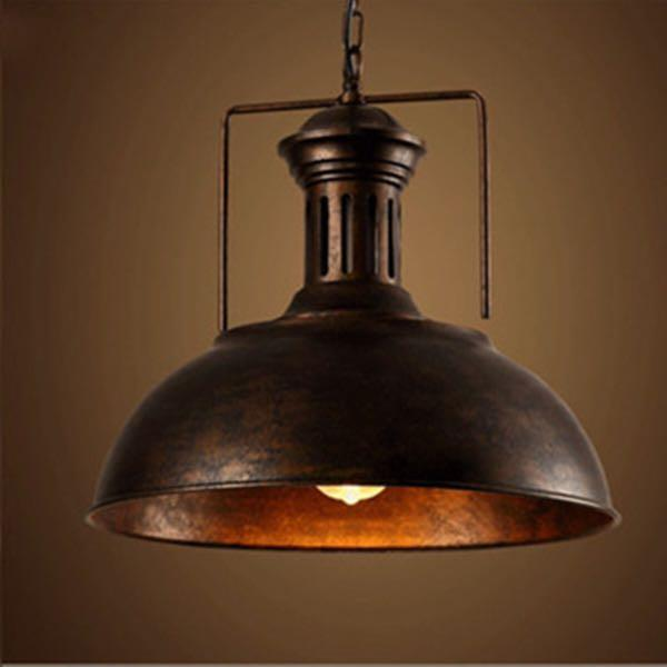 Iron Industrial Pendant Ceiling Lamp Light Rentro Chandelier Restauranr Home Bar