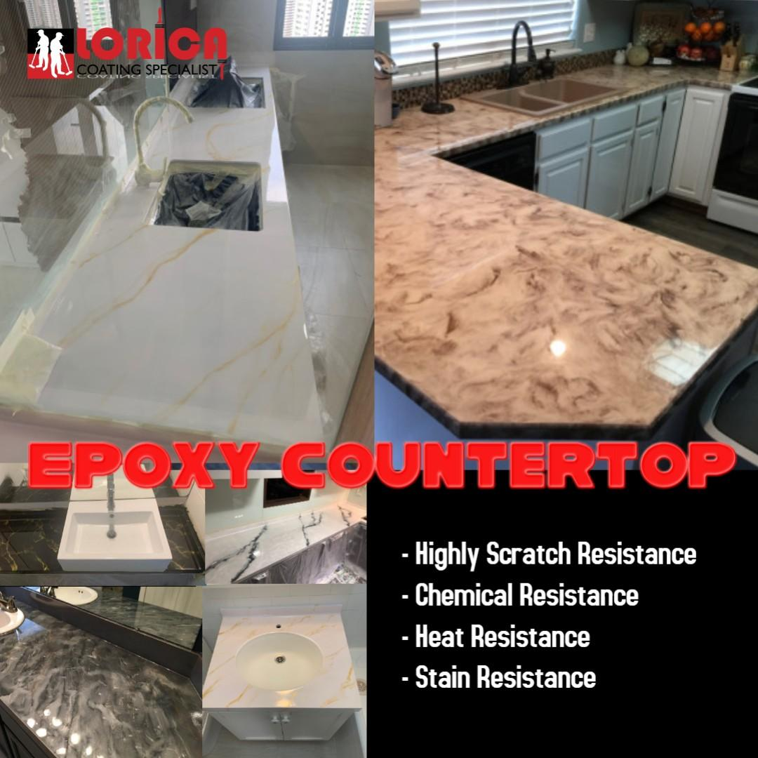 Kitchen Top, Epoxy Counter Top, Metallic Epoxy, Quartz Top, Counter Top, Kitchen Cabinet, Epoxy Coating