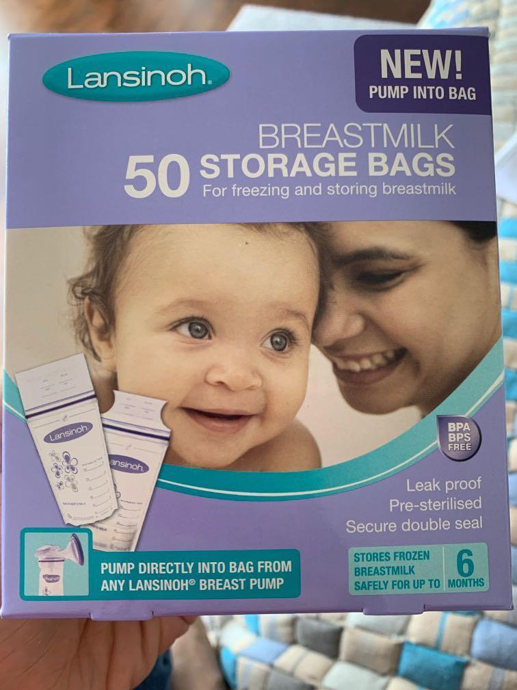 Lansinoh Breastmilk Storage Bags 50 Each Pack of 7