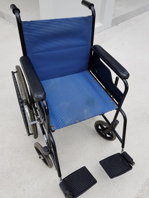 Branded lightweight wheelchair