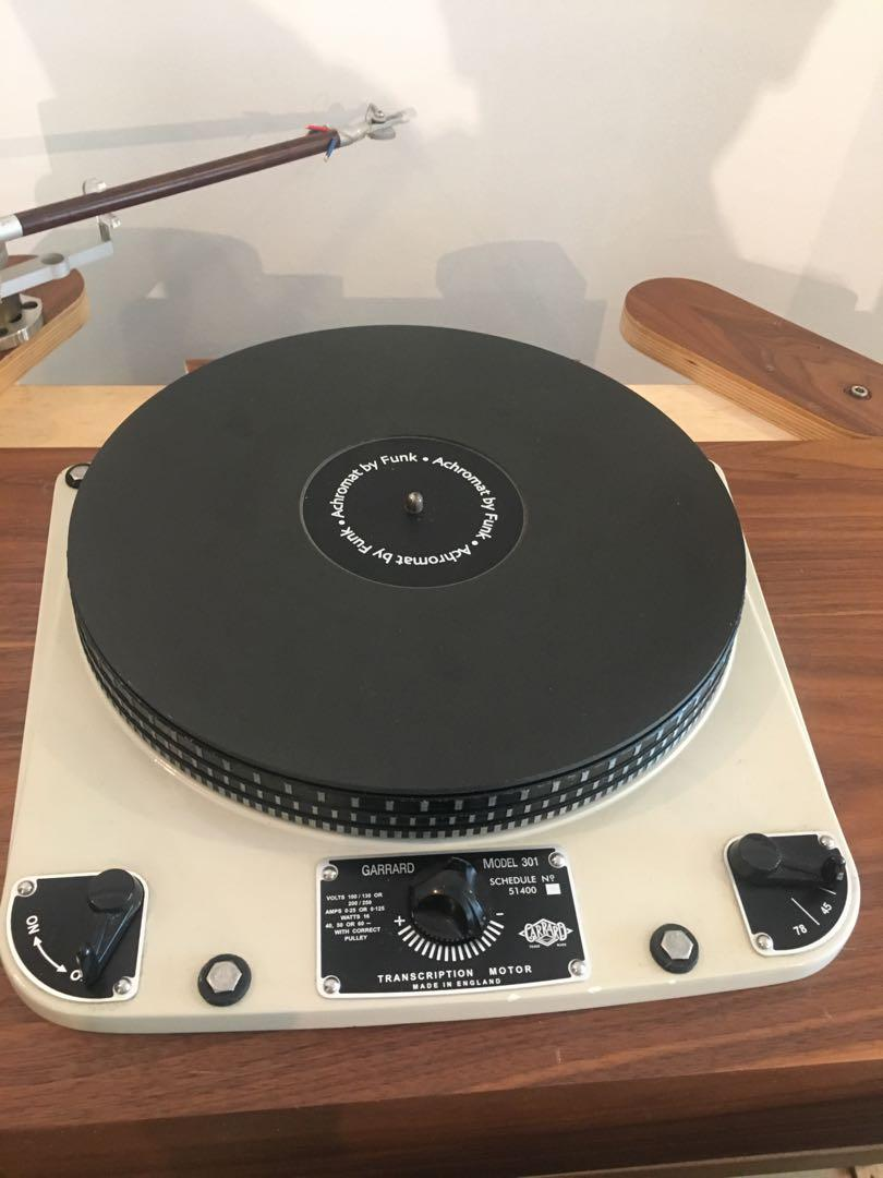 Loricraft Garrard 301 completely refurbished and updated
