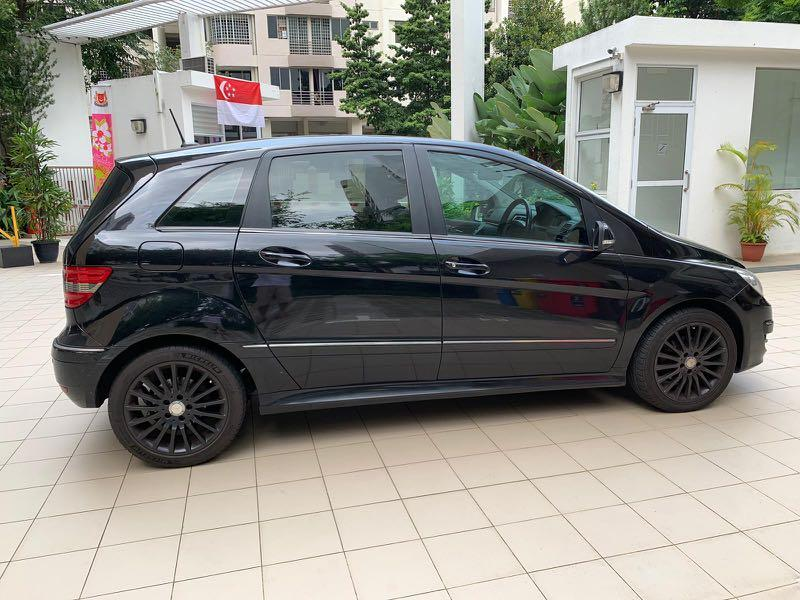 Mercedes Benz B Class For Rental