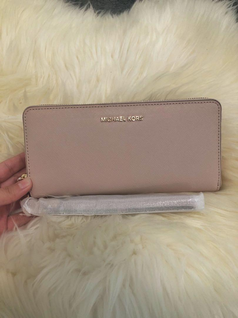 Michael Kors Continental Leather Wallet