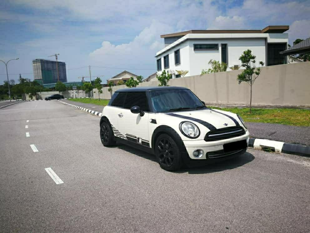 Mini cooper 2011, (1.6A) Faceslift Paddleshift,Push Button
