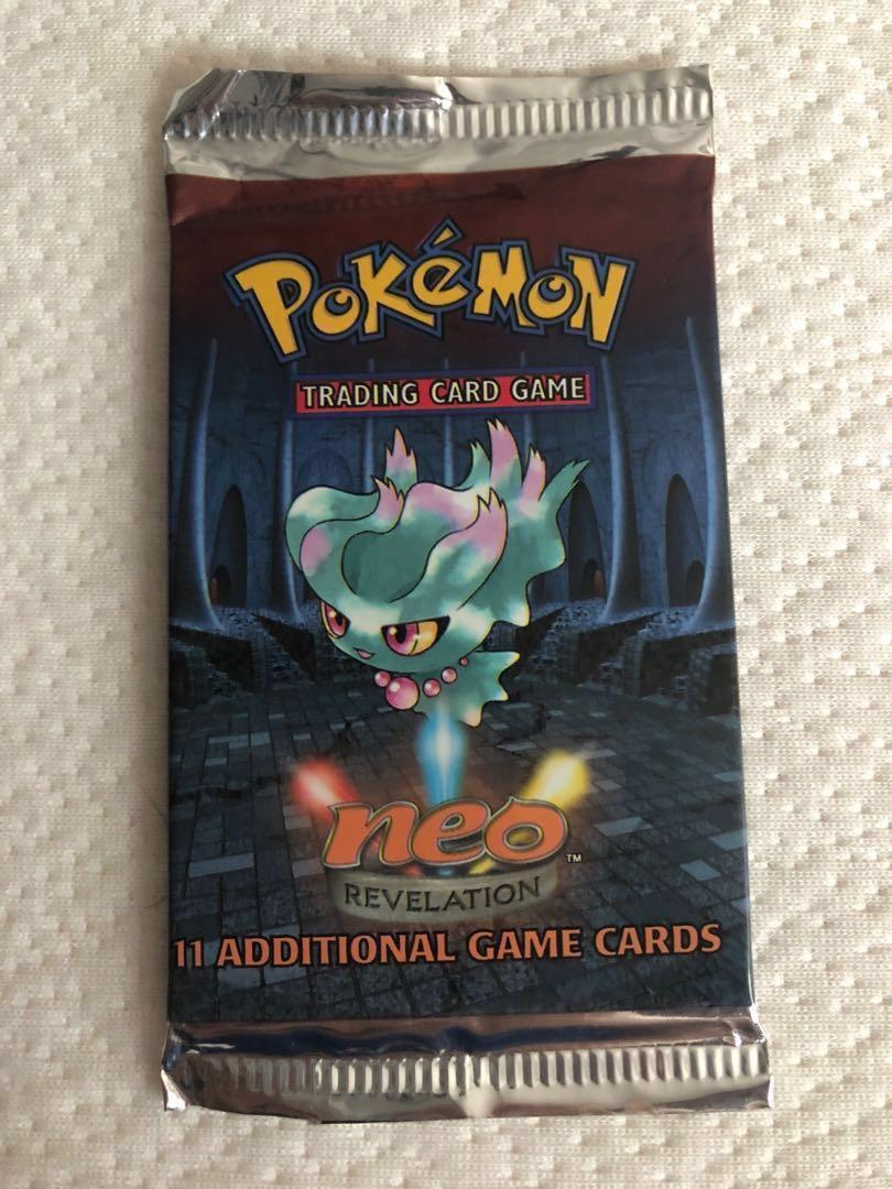 Neo Revelation Booster Pack Pokemon Trading Cards