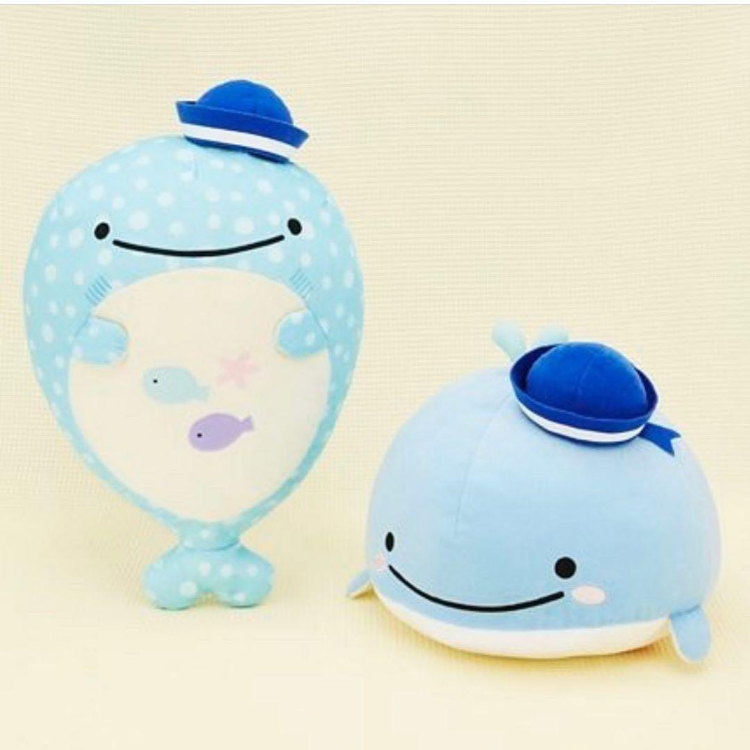 New Jinbe-san, Kokujira and Deep Sea Friends XL Plush (sailor ver.) 🛳🐳