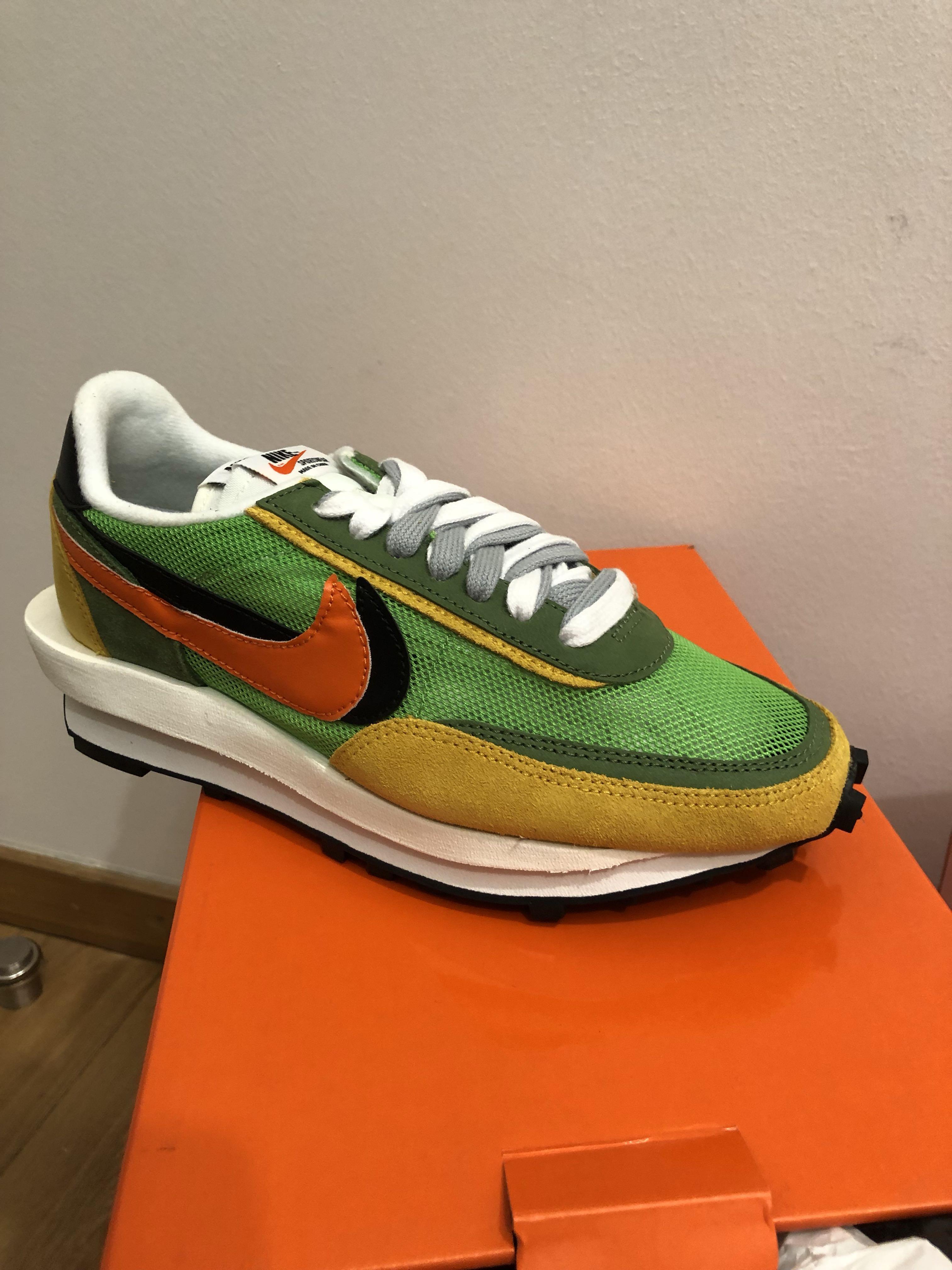 meilleur authentique 5fd0c 93cdc Nike LD Waffle Sacai Green Multi US 6 UK 5.5, Men's Fashion ...