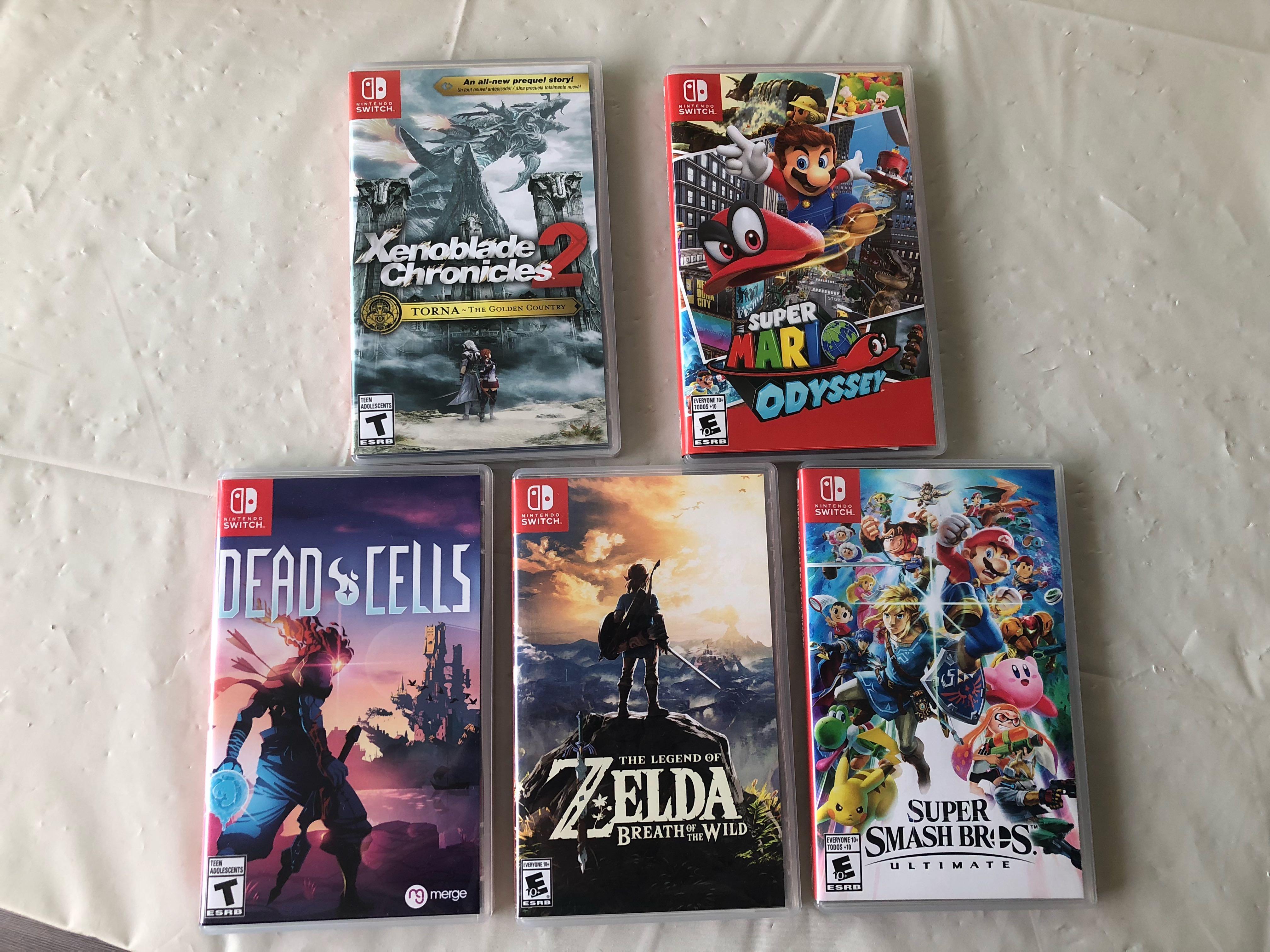 Nintendo Switch Games-Mario,Zelda and more!