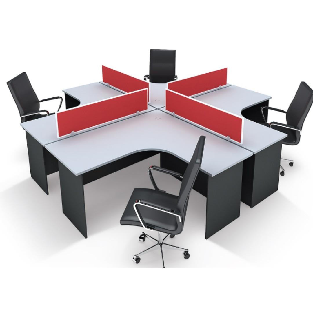 Office Furniture Work Station Set Of