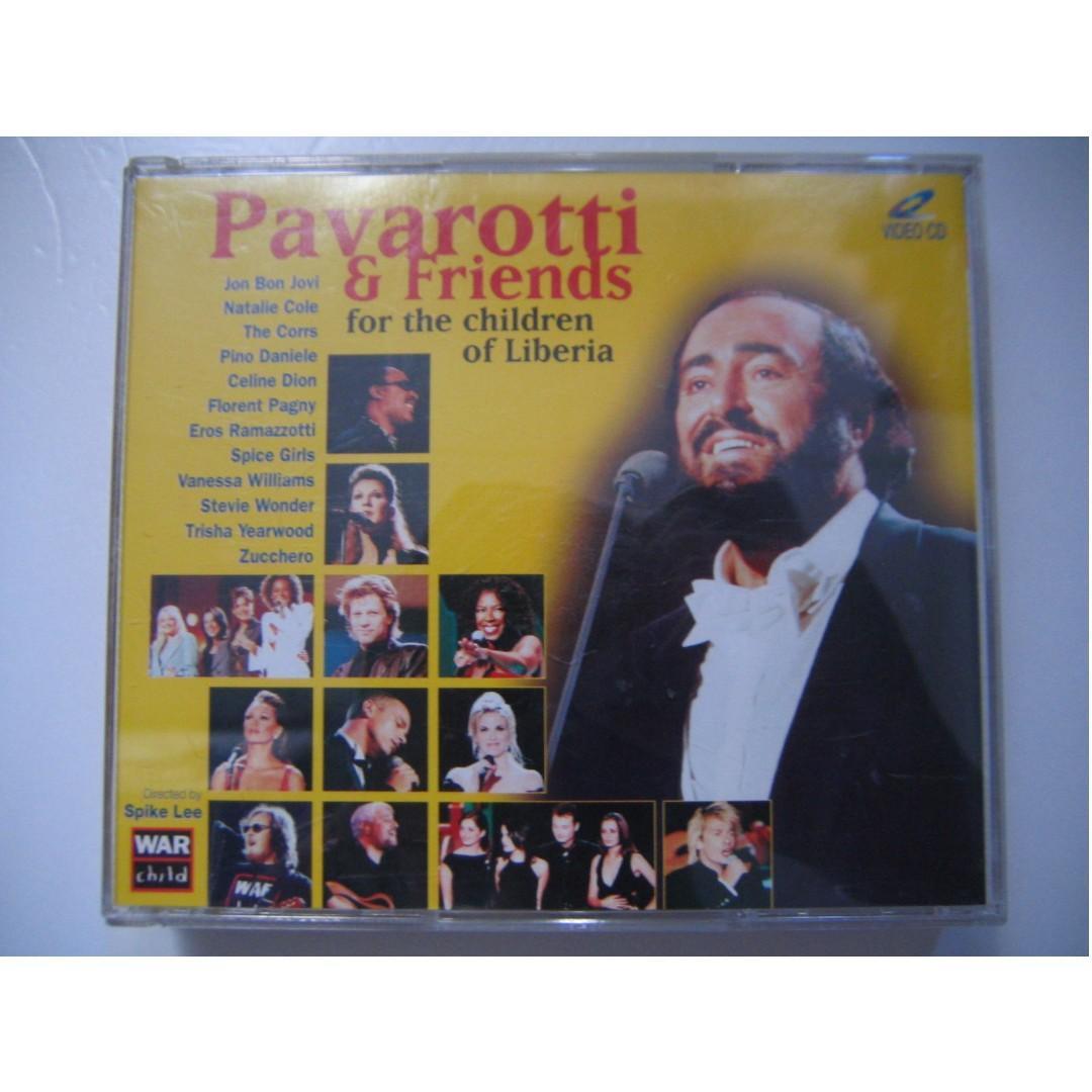 Pavarotti & Friends (For The Children Of Liberia) VCD (Jon