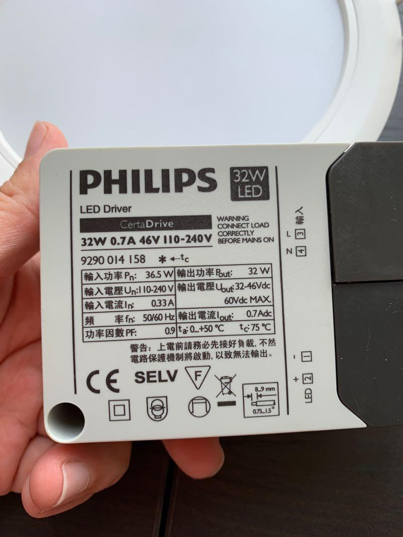 Philips LED recessed light (32W)