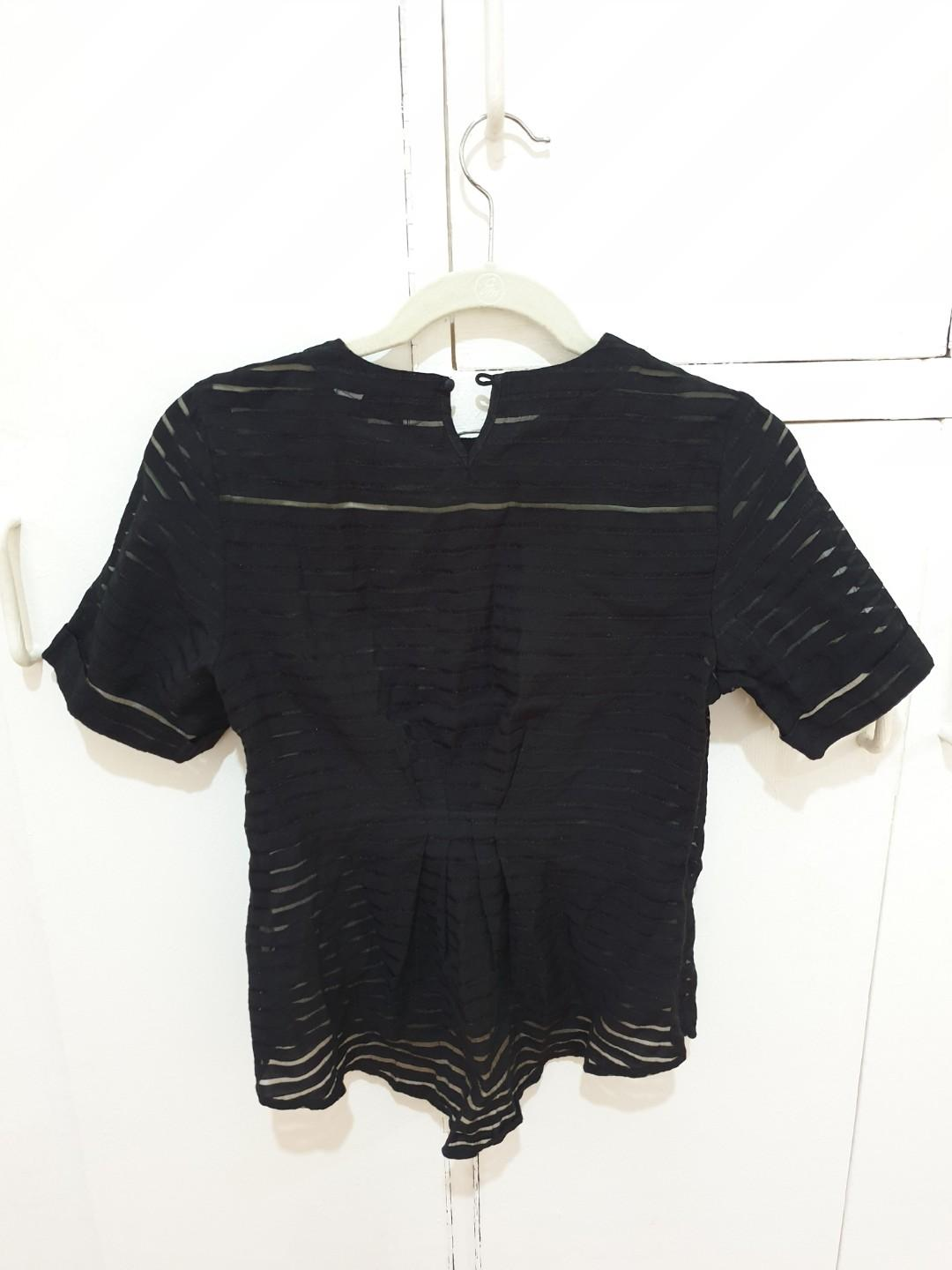 Preloved! See through blouse