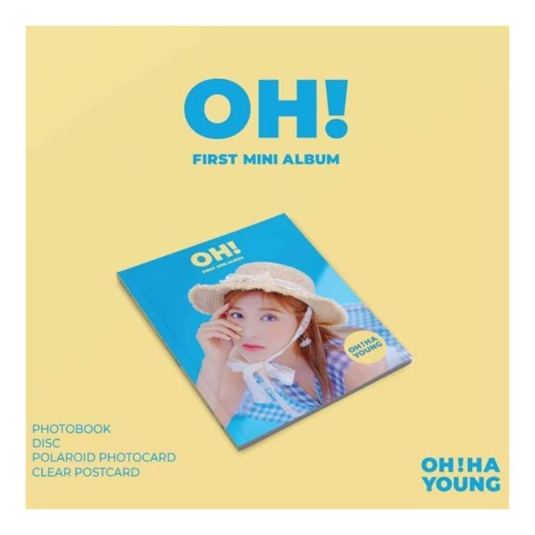 [Pre-order] OH HAYOUNG 오하영 (1ST MINI ALBUM 미니앨범) - OH!