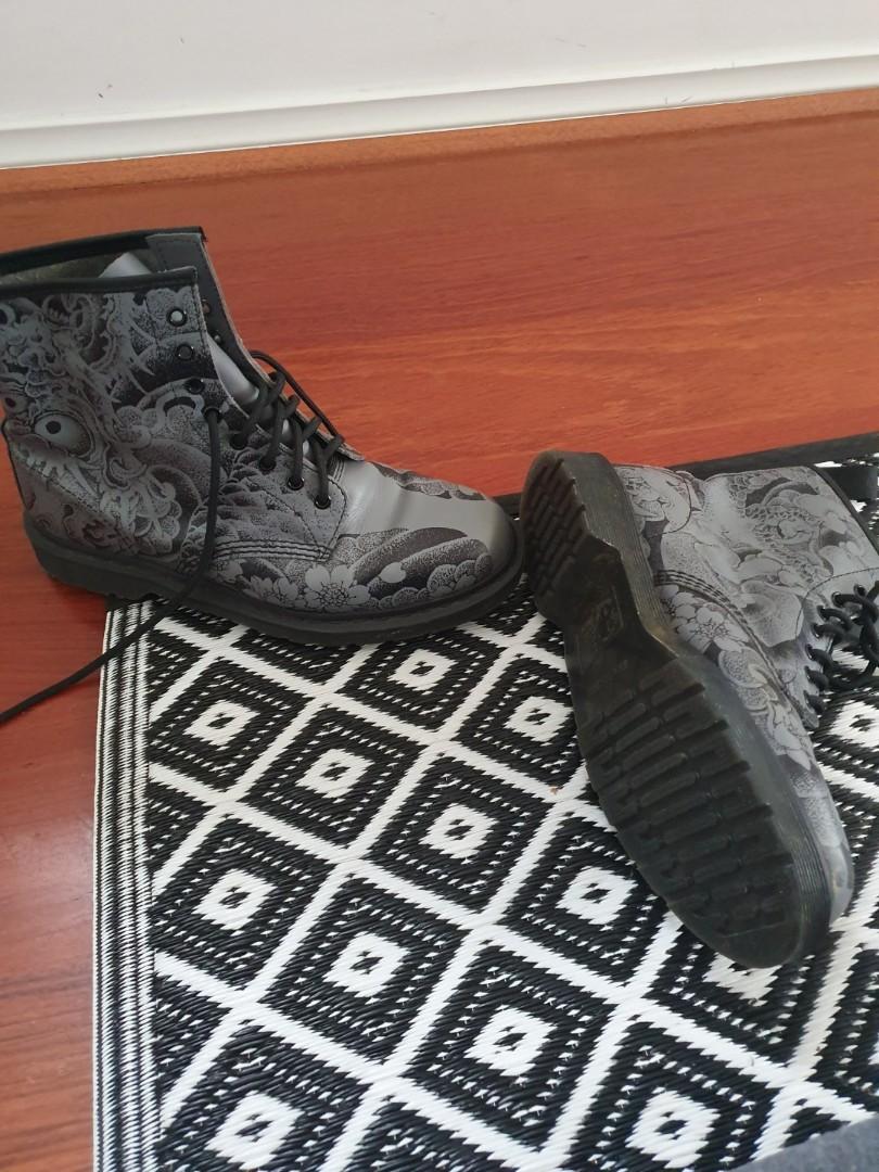 (*RARE* PERFECT CONDITION) Doc Martens X OT collaboration boots!