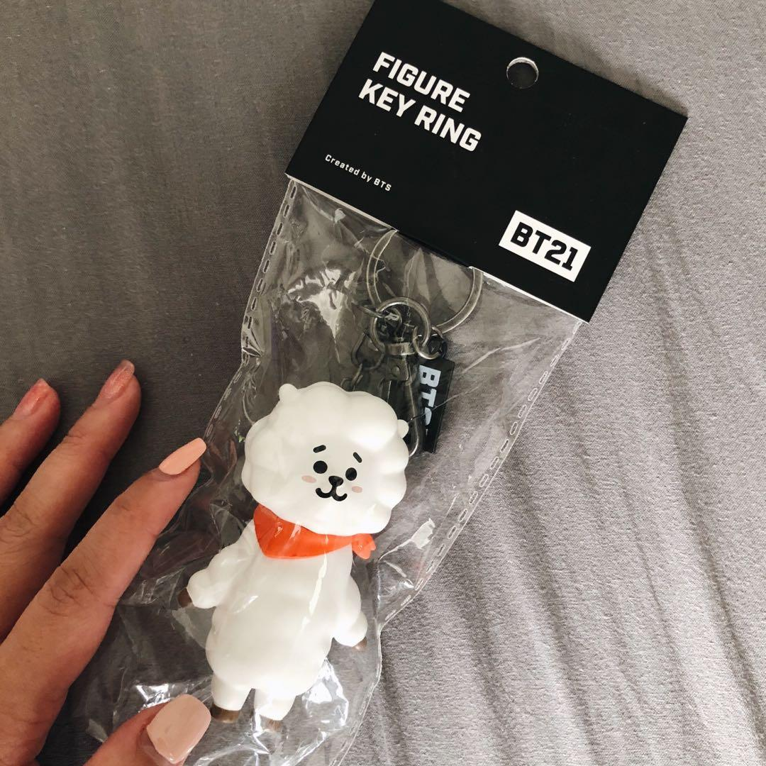 [READY STOCK] BT21 Official Figure Keyring (RJ ONLY)