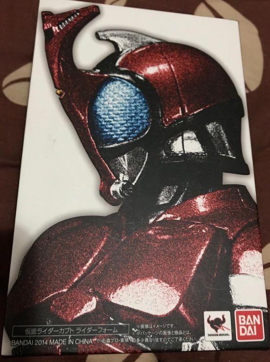SHF 真骨雕 幪面超人 Kamen Rider Kabuto 甲鬥王