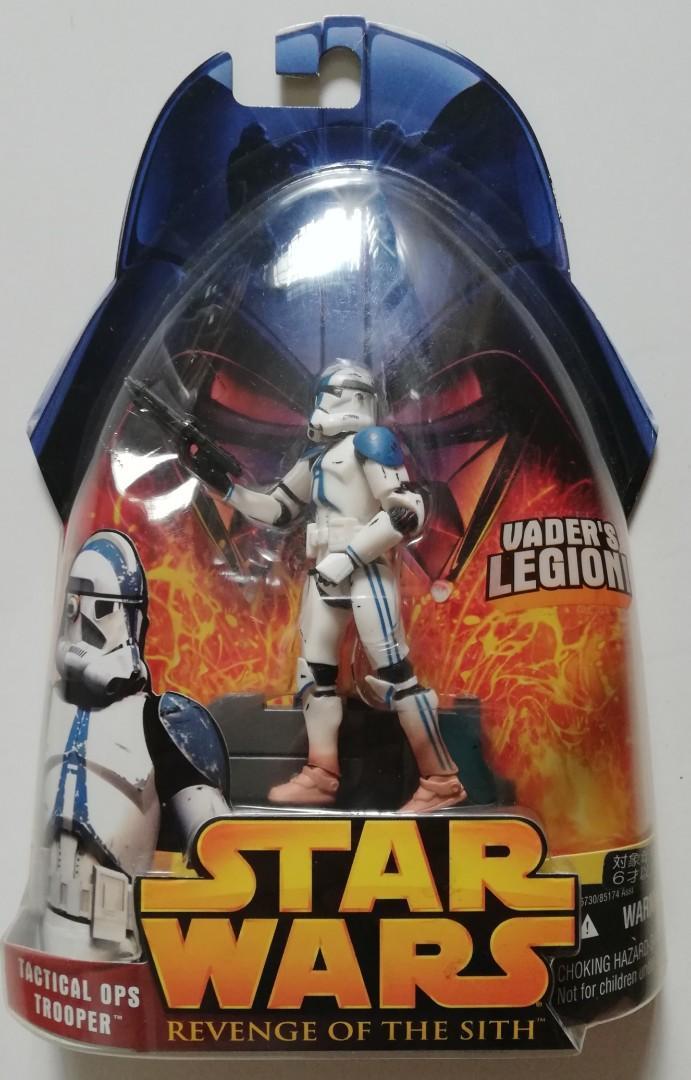 "Star Wars ROTS Tactical Ops Trooper 501st Vader's Legion Figure 65 Starwars SW Action 2005 3.75"" 3 3/4-inch Hasbro TRU"