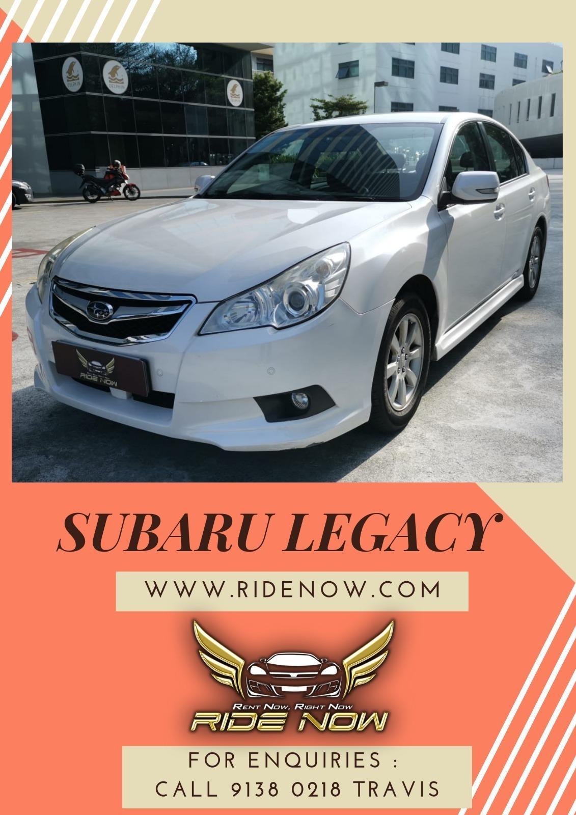 Subaru Legacy 2.0A Sedan Smooth luxurious sedan good for long driving trips