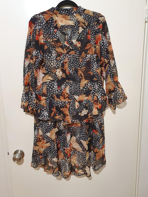Topshop floral dress UK 6