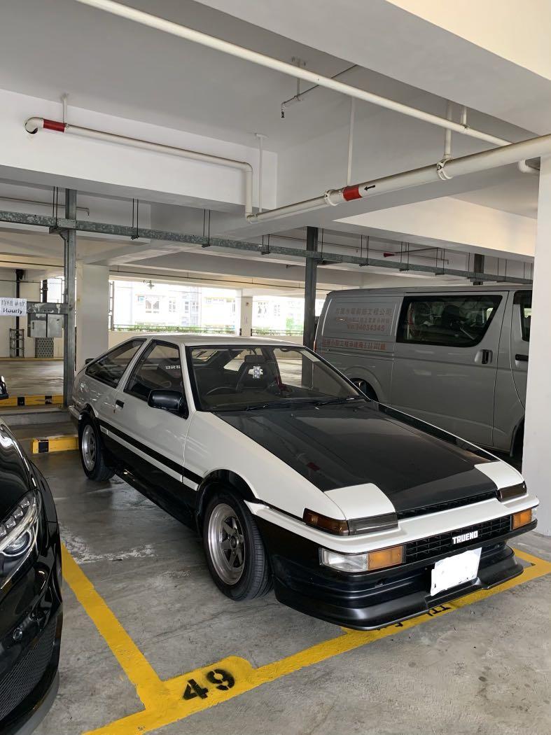 TOYOTA AE86 Trueno 租/賣