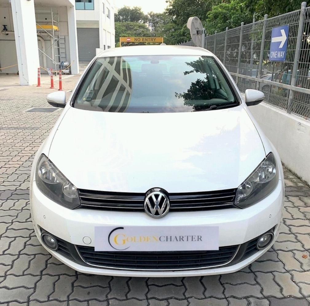 Volkswagen Golf 1.4 *$210 after GoJek Rebate PHV Grab Ryde or Personal use