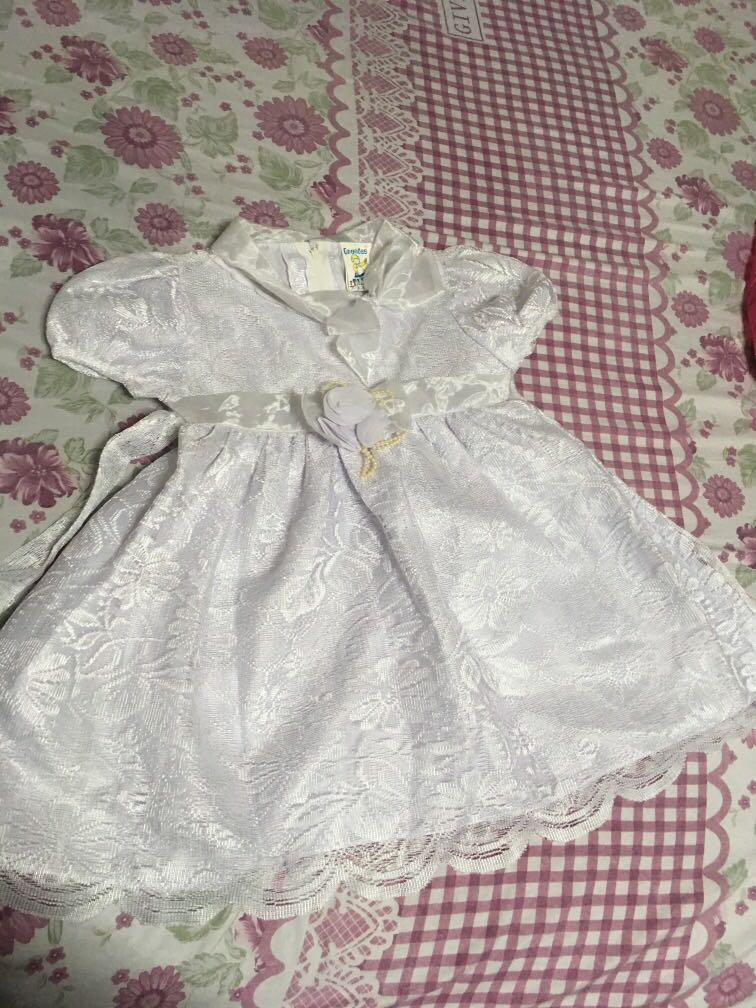 White party wear dress