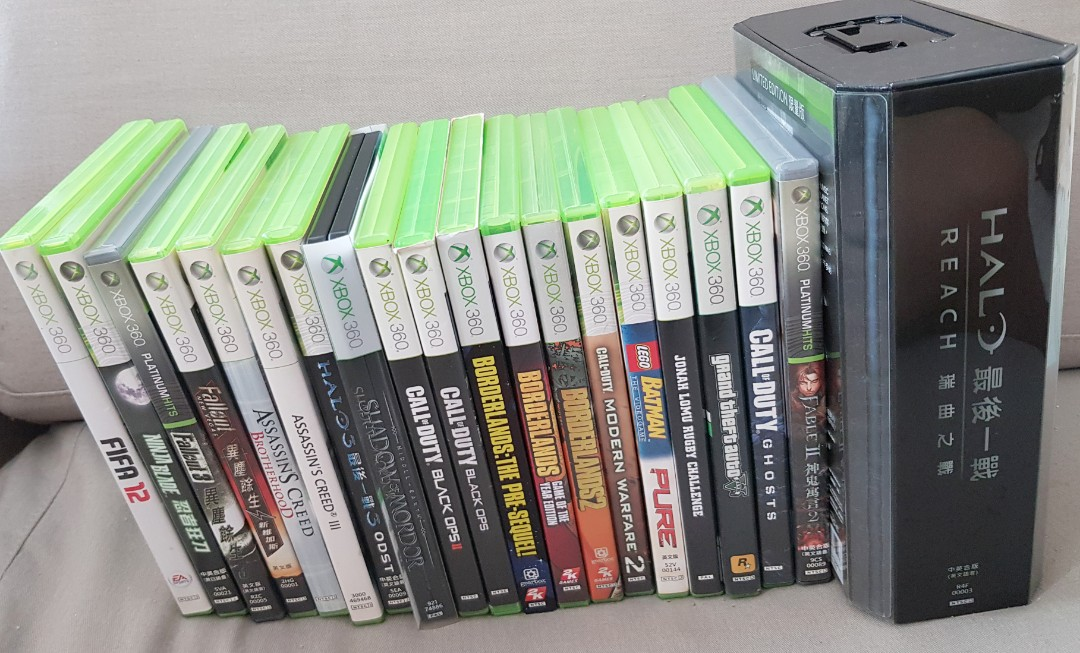 Xbox 360 Games, Toys & Games, Video Gaming, Video Games on