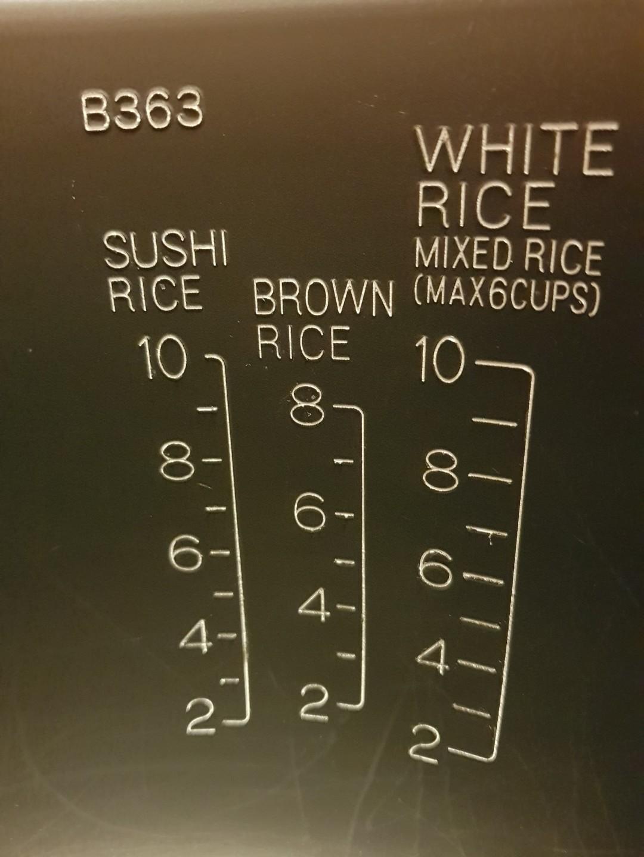 Zojirushi B363 rice cooker pot